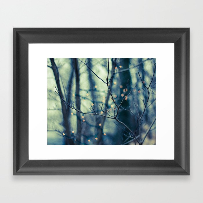 Woodland Holiday  Framed Art Print