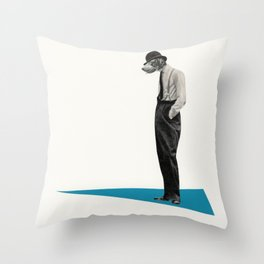 Down Dog Throw Pillow