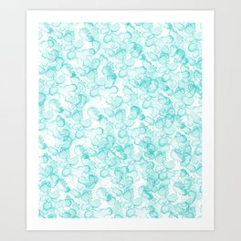 Abstract X Art Print