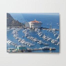 Avalon Harbor, Santa Catalina Island Metal Print