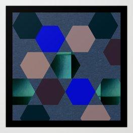 Art Rhombus Art Print