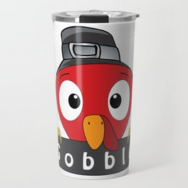 surprised funny Face Thanksgiving Gifts. Travel Mug