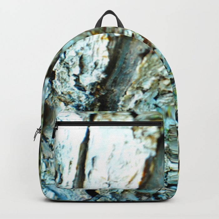 Tree Bark Color Backpack