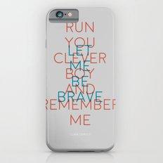 Clara Oswald iPhone 6s Slim Case