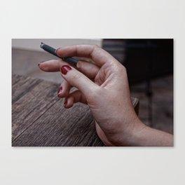 Nicotine Canvas Print