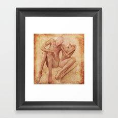 Being... Framed Art Print