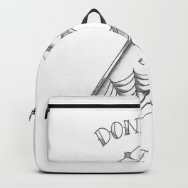Don't Wake Me Up Backpack