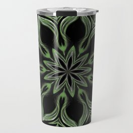 Alien Mandala Swirl Travel Mug
