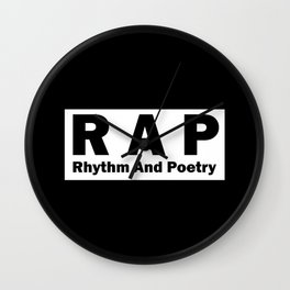 RAP Wall Clock