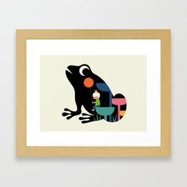 Who Am I Framed Art Print