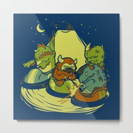 Things that go Bump in the Night Metal Print