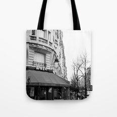 Parisian Cafe Tote Bag