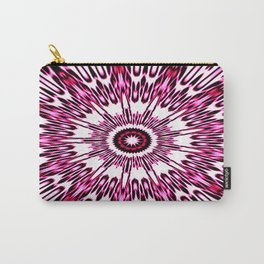 Pink White Black Explosion Carry-All Pouch