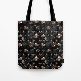 Floral series - Goldy Tote Bag