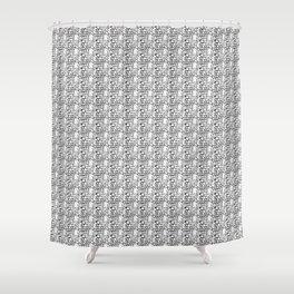 Quantique 04 semi Shower Curtain