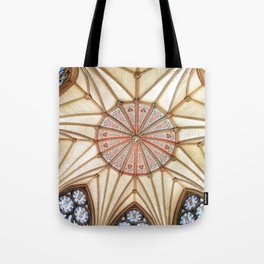 Chapter House at York Minster Tote Bag