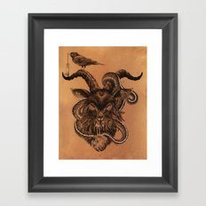 Coffee Goat Framed Art Print