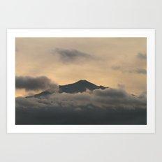 Mt Merapi - Central Java Art Print