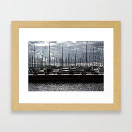 bodrum d-marin Framed Art Print