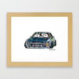 Crazy Car Art 0154 Framed Art Print