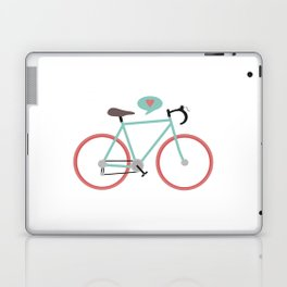 I love cycling Laptop & iPad Skin
