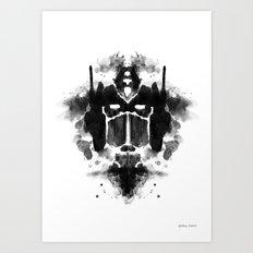 Optimust Art Print