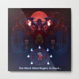 The Black Wind Metal Print