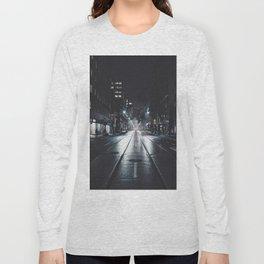 Night street reflect Long Sleeve T-shirt