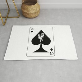 Ace of Spades Rug