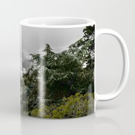 The Cove - Fog through trees in San Francisco Coffee Mug