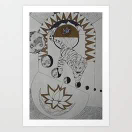 Cosmic Consciousness Art Print