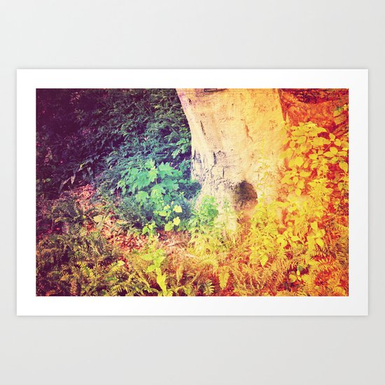 Dreaming in Color (of Another World) Art Print