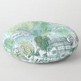 Jungle Village Floor Pillow