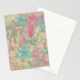 Floral Dreams 619-1A pastel Stationery Cards