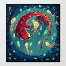 :::Sea Dragon::: Canvas Print