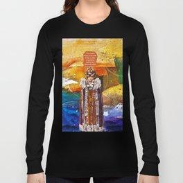 In Stillness, Lies Wisdom Long Sleeve T-shirt