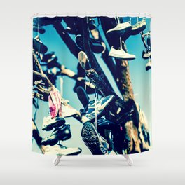 Shoe Tree II Shower Curtain