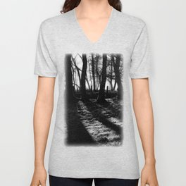 If You Go Down to the Woods Today... Unisex V-Neck