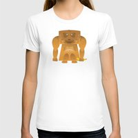 furry T-shirts featuring Furry Ape by Yay Paul