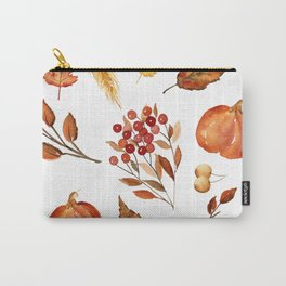Wheat and Berries Carry-All Pouch