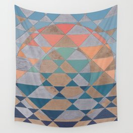 Circles and Triangles Wall Tapestry