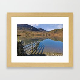Buttermere - English Lake District Framed Art Print