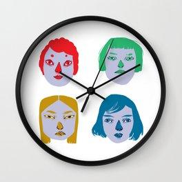 The Powerful Female Heads Wall Clock