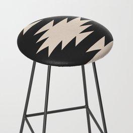 Minimal Southwestern - Charcoal Bar Stool