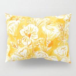 CALI POP Yellow California Poppies Pillow Sham