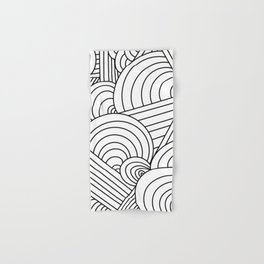 Geometric Lines Hand & Bath Towel
