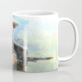 Portrait of Clint Eastwood Coffee Mug