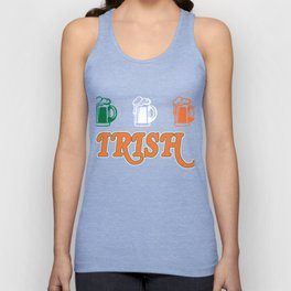 Patrick's Day Gift For Beer Lover. Unisex Tank Top