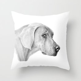 Weimaraner G2012-060 Throw Pillow