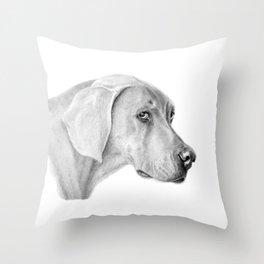 Weimaraner G2012-060 Throw Pillow
